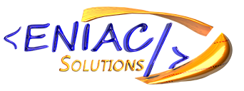 The Logo For ENIAC Solutions